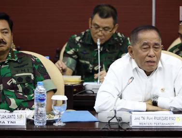 Menhan dan Panglima TNI Hadiri Rapat Pleno Badan Pengkajian MPR