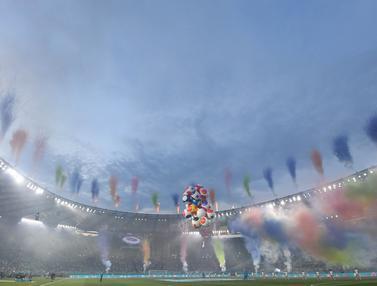 Foto Piala Eropa: Ada Totti dan Nesta di Opening Ceremony Sederhana Euro 2020