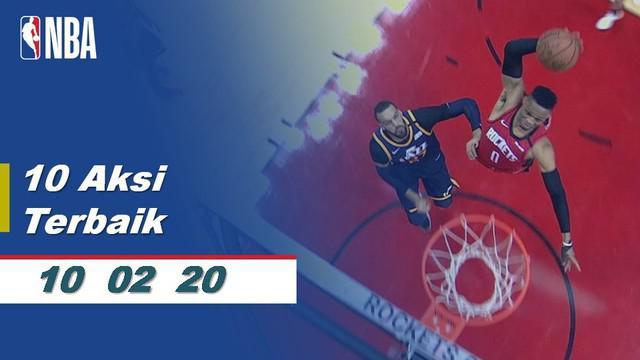 Berita Video 10 Aksi Terbaik NBA 10 Februari 2020