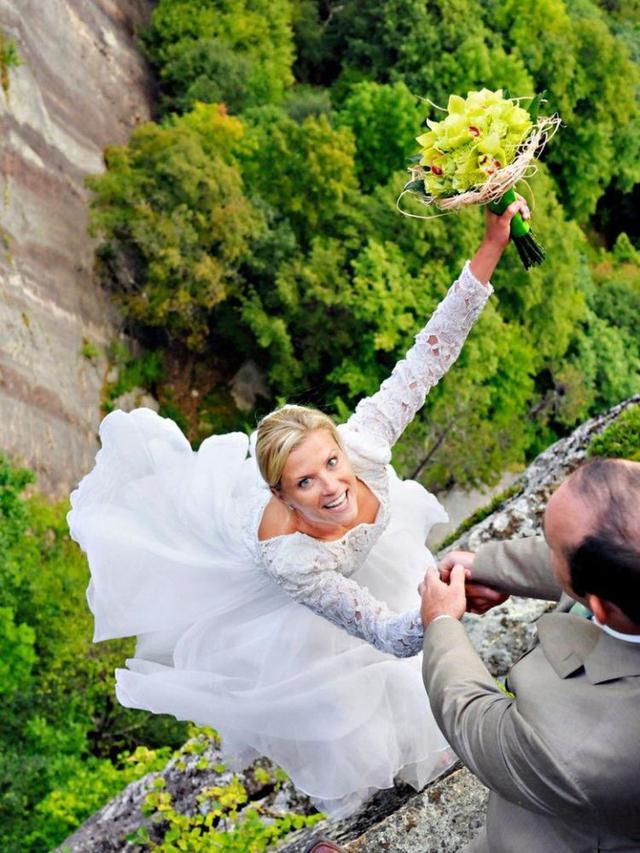 Foto Prewedding Paling Ekstrem (sumber: Youandyourwedding)