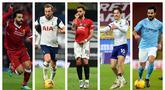 Kumpulan foto-foto 5 pemain yang mempunyai kinerja menajubkan dalam ajang Premier League 2020-2021. (Foto: AFP)