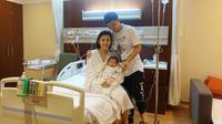 Chelsea Olivia masuk rumah sakit.