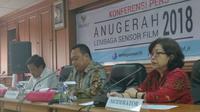 Lembaga Sensor Film (LSF) kembali menggelar ajang penghargaan untuk perfilman Indonesia.