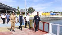 Menteri Pariwisata (Menpar) Arief Yahya melakukan kunjungan kerja ke Morotai, Maluku Utara.