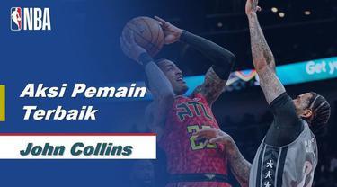 Berita Video Aksi John Collins Bawa Atlanta Hawks Menang Atas Brooklyn Nets 141-118