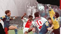 Juventus Juara Liga Champions 1995/1996. (Bola.com/Dody Iryawan)