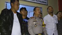 Satreskrim Polresta Palembang berhasil menangkap pelaku begal di Palembang (Liputan6.com / Nefri Inge)