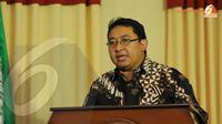 Untuk membuat bangsa Indonesia lebih baik diperlukan pemimpin yang kuat dan yang mampu menerima koreksi ujar Wakil Ketua Umum Partai Gerindra, Fadli Zon (Liputan6.com/Helmi Fithriansyah)