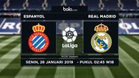 La Liga: Espanyol Vs Real Madrid (Bola.com/Adreanus Titus)