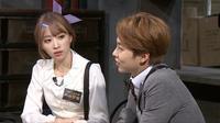 Xiumin `EXO` diminta untuk mendekatkan diri hingga bermesraan dengan personel girl band EXID, Hani.