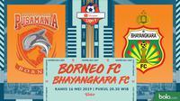 Shopee Liga 1 - Pusamania Borneo FC Vs Bhayangkara FC (Bola.com/Adreanus Titus)