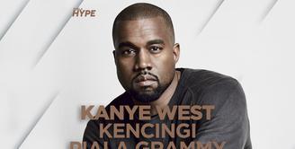 Kanye West Kencingi Piala Grammy dan Mengaku Nabi Musa yang Baru