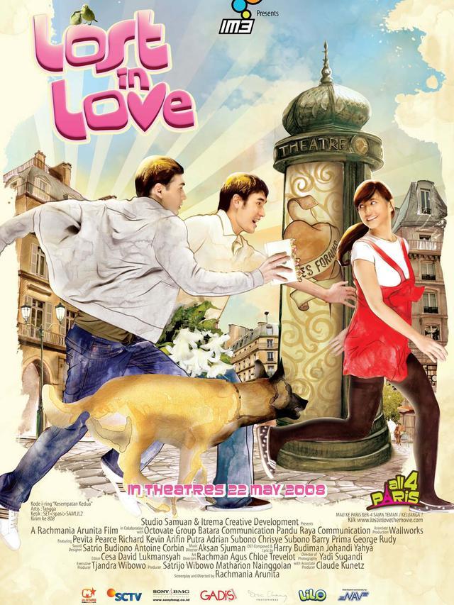 Poster film Lost In Love. (Foto: Dok. filmindonesia.or.id)