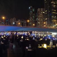 Dhow Cruise at Dubai Marina | Karla Farhana/Fimela.com
