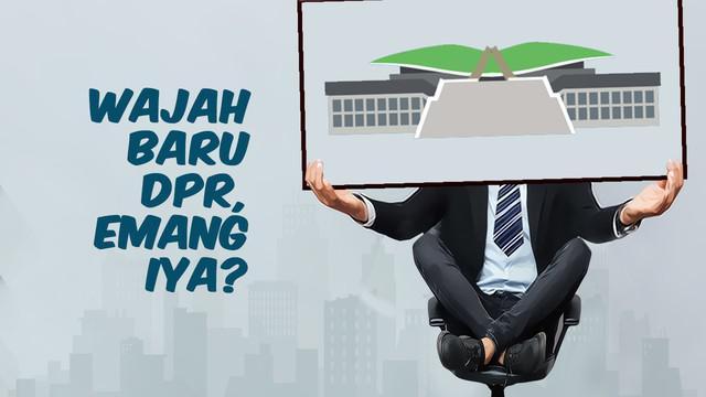 Wajah lama dan baru mewarnai pelantikan anggota DPR periode 2019-2024. Sebanyak 575 anggota dewan yang baru itu dilantik bersama para anggota DPD dan MPR di Gedung Parlemen, Senayan, Jakarta, Selasa 1 Oktober 2019.
