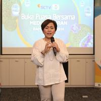 SCTV Buka puasa bersama media terpilih 2018 (Nurwahyunan/bintang.com)