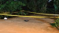 Penemuan benda mencurigakan di Jalan Raya Grogol, Kecamatan Limo, Kota Depok. (Istimewa)