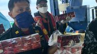 Dalam rangka Operasi Patroli Laut Terpadu Jaring Sriwijaya Tahun 2020 telah meringkus KM Milenium yang bermuatan 10,2 juta batang rokok ilegal di perairan Peureula.