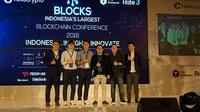 Peluncuran Tokocrypto di acara In Blocks, Jakarta, Sabtu (15/9/2018). Liputan6.com/Jeko I.R.