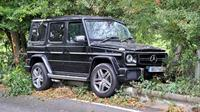 Mercedes Benz G63 AMG milik pemain bola Chelsea, Tiemoue Bakayoko nyungsep.(imagewise)