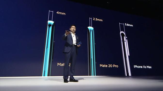 Peluncuran Huawei Mate 20 dan Mate 20 Pro di London. (Doc: Huawei)
