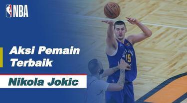 Berita Video Melihat Aksi Nikola Jokic Saat Denver Nuggets Kalahkan Orlando Magic di NBA Hari Ini