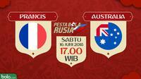 Piala Dunia 2018 Prancis Vs Australia (Bola.com/Adreanus Titus)