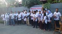 Relawan di Yogyakarta mendeklarasikan dukungan terhadap Abraham Samad untuk maju pemilihan presiden 2019