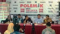 Diskusi Polemik di Menteng yang membahas soal amandemen UUD 1945. (Liputan6.com/Putu Merta Surya Putra)
