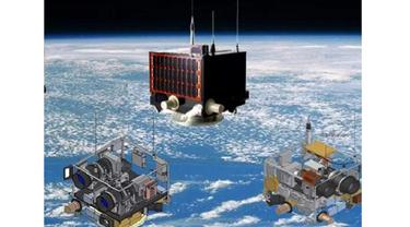 Penampakan satelit LAPAN A2/ LAPAN ORARI