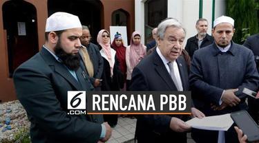 Sekjen PBB Antonio Guterres meluncurkan inisiatif baru melindungi tempat-tempat keagamaan di seluruh dunia.