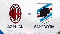 Liga Italia: AC Milan vs Sampdoria. (Bola.com/Dody Iryawan)