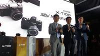 Peluncuran Fujifilm X-T100. Liputan6.com/ Agustinus Mario Damar