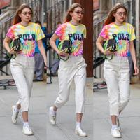 Gigi Hadid the Queen of Tie Dye. (Foto: instagram.com/slaygihadid)
