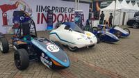 Mobil Listrik karya mahasiswa Indonesia butuh dana untuk go interntional. (Herdi M/Liputan6.com)