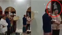 Viral Video Mirip Pocong Melayang Saat Warga Salawatan Ini Bikin Merinding (Sumber: Twitter/@Chynnob_)