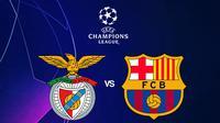 Liga Champions - Benfica Vs Barcelona (Bola.com/Adreanus Titus)