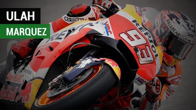 Berita video ulah Marc Marquez yang hampir membuat Tito Rabat terjatuh. Kejadiannya sebelum insiden Marquez dengan Maverick Vinales di Kualifikasi MotoGP AS 2018.