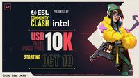 ESL baru saja mengumumkan turnamen esports bertajuk ESL Community Clash yang mempertemukan komunitas Valorant di Asia Tenggara. (Dok. ESL)