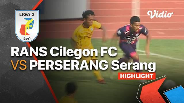 Berita Video, Hasil Pertandingan RANS Cilegon FC Vs Perserang Serang di Pekan Ketiga Liga 2 2021/2022 pada Selasa (12/10/2021)