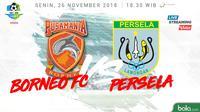 Liga 1 2018 Pusamania Borneo FC Vs Persela Lamongan (Bola.com/Adreanus Titus)