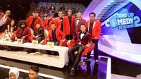 Para dewan juri, host, dan mentor SUCA 2 (Indosiar/Twitter)