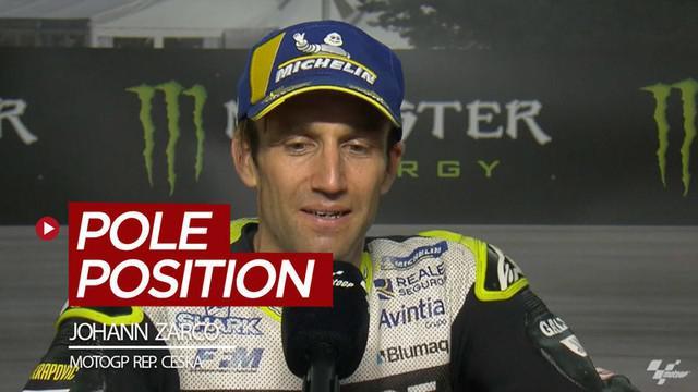 Berita video Johann Zarco mengungkapkan dirinya tidak menyangka bisa meraih pole position di MotoGP Republik Ceska.