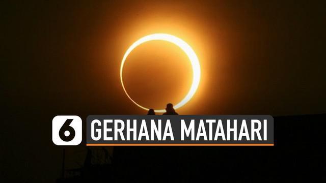 Gerhana Matahari Cincin akan terjadi pada Kamis (26/12/2019). Sebelumnya fenomena tersebut lewati Indonesia pada 22 Agustus 1998.