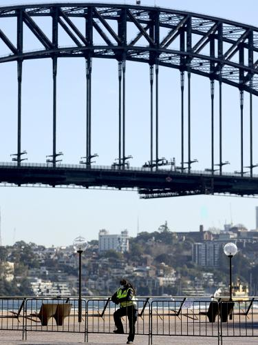 FOTO: 5 Juta Penduduk Sydney Kena Lockdown Lanjutan