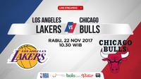 Los Angeles Lakers Vs Chicago Bulls (Bola.com/Adreanus Titus)