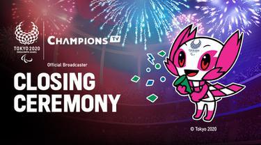Closing Ceremony Paralimpiade Tokyo 2020