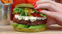 dalam makanan bernama Nutri-burger ini mengandung 50 makanan super (superfood). (Foto: Groupon)