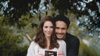 Potret Perjalanan Kehamilan Istri Randy Pangalila. (Sumber: Instagram.com/randpunk)