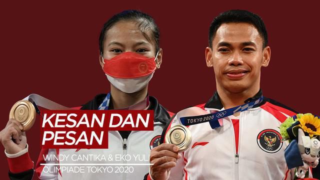 Berita Video Kesan dan Pesan Windy Cantika Aisah dan Eko Yuli Irawan Setelah Sukses di Olimpiade Tokyo 2020